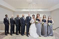 Rain or Shine: Hyatt Atlanta Perimeter at Villa Christina Wedding Photography