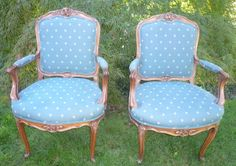 French Carved Upholstered Arm Chairs Vintage absolutely stunning high quality in Antiques | eBay