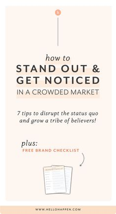 I felt hopeless — like I was never going to stand out, get noticed, or succeed online! Let me share how I started standing out and made a name for myself. // brand strategist / small business branding / how to build your brand / find your unique voice / brand voice / personal branding tips / tips for new influencers / brand messaging / business strategy tips / small business owners / new entrepreneur essentials #brandstrategy #branding