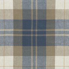 Summer Cottage Plaid - Vintage Blue - Plaids - Fabric - Products - Ralph Lauren Home - RalphLaurenHome.com