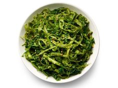 Get Asparagus Noodles with Pesto Recipe from Food Network