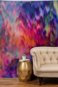Amy Sia Sunset Storm Tapestry. Tapestry HeadboardTapestry WallGarage BedroomHome  AccessoriesPainting ...