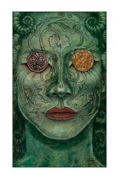 The 2 of Disks - Mary-el Tarot