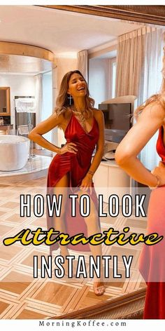 How to look more attractive instantly - here is beauty tips you can look more attractive, thing to do to alleviate your look. Go check the post to see tips to look more attractive…