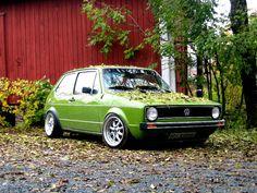 VW Rabbit Mk1.  ....hopefully diesel...