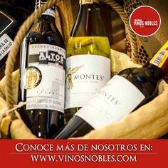 Si te gusta el #Vino o quieres aprender más sobre él, ingresa a nuestra página web: www.vinosnobles.com y brinda con nosotros. #VinosNobles