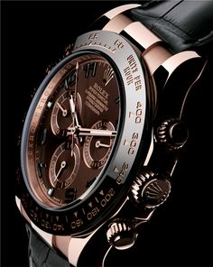 Rolex Daytona Rose Gold 116515LN Brown Zoom