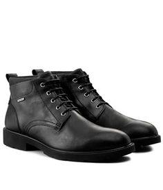 Ghete Barbati Geox Respira Negre   Cea mai buna oferta Mai, Combat Boots, Shoes, Fashion, Moda, Zapatos, Shoes Outlet, Fashion Styles, Shoe