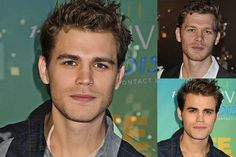 Paul Wesley + Joseph Morgan = Oh dear God, yes please. *drools uncontrollably* Is it hot in here?    Celebrities Morphed Together
