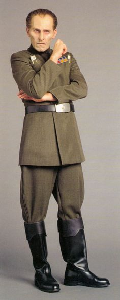 Moff Wilhuff Tarkin as he looked before the construction of the Death Star #tarkin #star #wars
