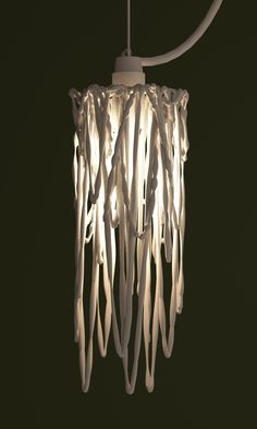 lamp shade 3d print by studioluminaire.Join the 3D Printing Conversation: http://www.fuelyourproductdesign.com/