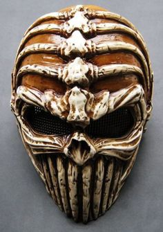 Typhoon Camouflage Hunting Accessories Masks Ghost Tactical Outdoor Military CS Wargame Paintball Airsoft Skull Full Face Mask - Nifty Thrifty Store - 13