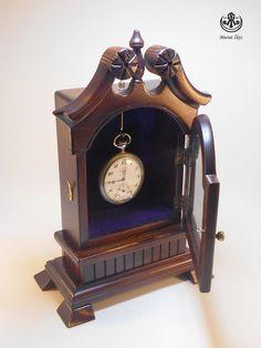 Wooden Hand Made Pocket Watch Case & Holder by SpecialWoodwork