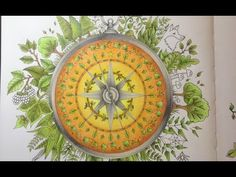 ENCHANTED FOREST Johanna Basford - color tutorial part 4 - YouTube