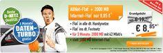 1GB Telekom Allnet Flat für nur 8,85€ http://www.simdealz.de/telekom/klarmobil-allnet-spar-flat/