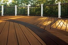 Build your dream deck with Trex, the world's best high-performance composite decking brand. Complete your yard with our framing, railing, & lighting. Painted Wood Deck, Trex Composite Decking, Deck Spindles, Trex Railing, Railing Ideas, Deck Colors, Decking Material, Deck Builders, House Deck