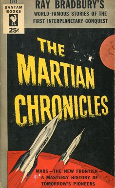 Martian Chronicles, Ray Bradbury (1954 edition)