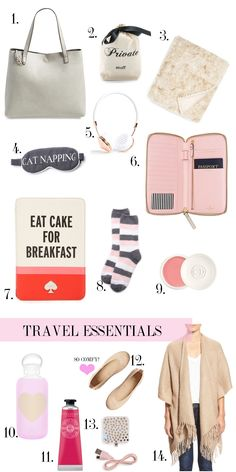 Travel Essentials | Chronicles of Frivolity
