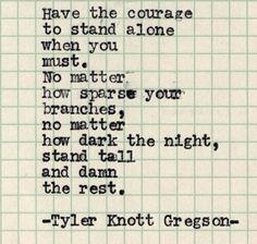 Tyler Knott Gregson - Typewriter Series