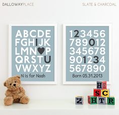 Baby Boy Nursery Decor Boys Nursery Art Baby Boy by DallowayPlace, $40.00