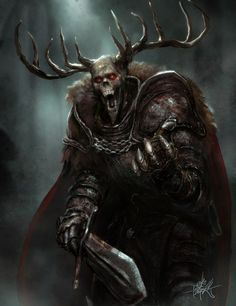 The Horned King - Accursed RPG by TheFirstAngel.deviantart.com on @DeviantArt