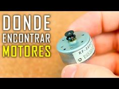 Los Mejores Lugares Donde Encontrar Motores Electricos - YouTube Electronics Components, Electronics Projects, Simple Arduino Projects, Electronic Engineering, Dremel, Flask, Barware, Projects To Try, Mini