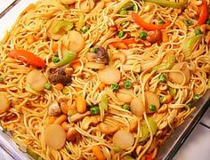 Chinese food is a classic take-out cuisine in America, but we're here to help you make it at home. The 10 Best Chinese Food Casserole Recipes includes a variety of Chinese recipes that are easy to make in the comfort of your own home. Homemade Chinese Food, Best Chinese Food, Chinese Egg, Chinese Chicken, Noodle Casserole, Casserole Recipes, Chicken Casserole, Paula Deen, Pasta Dishes