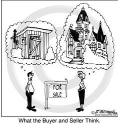 what the buyer thinks....and the seller thinks