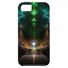 Contemplating Oz Fractal Art iPhone 5 Case $49.95 #xzendor7