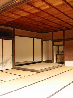Tokonoma: translates to floor or bed space