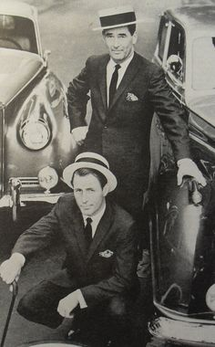 1950s Menswear Fashion Photo Men In Suits and Hats With Antique Vintage Cars by Christian Montone, via Flickr