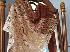 Laurelie by Lisa Hannes | malabrigo Mechita in Sand BAnk and MArte
