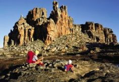 """Lots Wife and Window Rocks, Cederberg Wilderness Area. The easy ramble to the striking Window Rocks, also called """"Vensterklippe"""" in Afrikaans, is highly rewarding. Leave your car in the parking a. Hiking Site, Hiking Trails, Lot's Wife, Sa Tourism, Countries Of The World, Cape Town, Wilderness, Places To See, Monument Valley"""