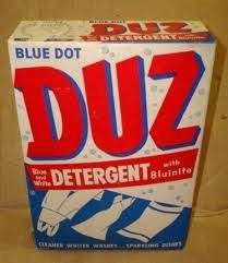 Duz!  And I remember the glasses that came in it!     Duz Does Everything!