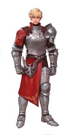 m npc Fighter Heavy Armor Merchant Guard male lg Fantasy Character Design, Character Creation, Character Design Inspiration, Character Concept, Character Art, Fantasy Armor, Medieval Fantasy, Dnd Characters, Fantasy Characters