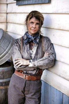 Lori Loughlin returns to series TV as Abigail Stanton a strong leader to the women of Coal Valley in WHEN CALLS THE HEART - Series premiering Saturday, January 11th 9/8C only on Hallmark Channel USA