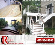 Rock Creek Decks and Additions, LLC can easily make your dream deck or patio a reality throughout  Chevy Chase, MD. We specialize in ROOFTOP DECKS, YARD DECKS, porches, patios, additions, fencing, garages, bathrooms, kitchens, basements, 2nd floor additions, etc.…  Deck & Patio Builders in Chevy Chase, MD Rock Creek Decks and Additions, LLC | 443-304-9000 www.RockCreekDecks.com