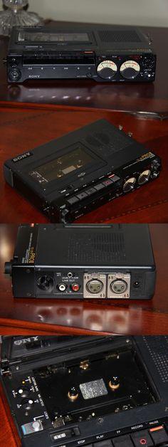 Vintage Cassette Decks: Sony Tc-D5pro Ii Professional Stereo Cassette-Corder Recorder BUY IT NOW ONLY: $499.99
