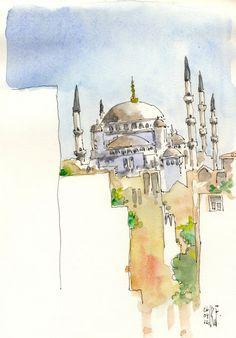 rene fijten bocetos: Estambul