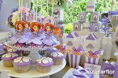 candy bar de la princesa sofia - Buscar con Google