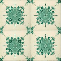Image result for floor tile green pattern portuguese tiles Green Facade, Mosaic Tiles, Pool Tiles, Sea Colour, Antique Tiles, House Tiles, Textile Patterns, Textiles, Portuguese Tiles