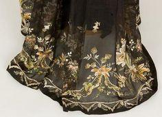 Organza Gown, ca. 1800-10