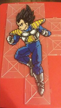 Vegeta - Dragon Ball perler beads by ashleighpage74