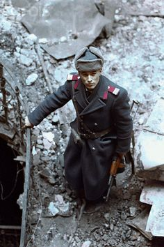 Romanian Officer Standing in Rubble Romanian Revolution, Warsaw Pact, Best Documentaries, Music Licensing, Second World, Press Photo, Cold War, World History, Military History