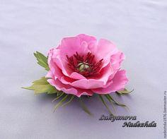 """Брошь из фоамирана """" Вильгельм """" - броши из фоамирана,цветы из фоамирана"""
