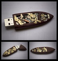 This intricate USB flash drive. | 18 Steampunk Decor Flourishes That Will Make Any Room Badass
