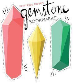 gemstone bookmarks