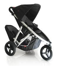 phil and teds double pushchair black