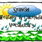 Spanish weather, months and seasons powerpoint with pictures for each word and practice too!  Great for teaching or for review.