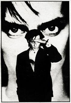 PHOTO: Peter Murphy – Bauhaus / Chicago 1980